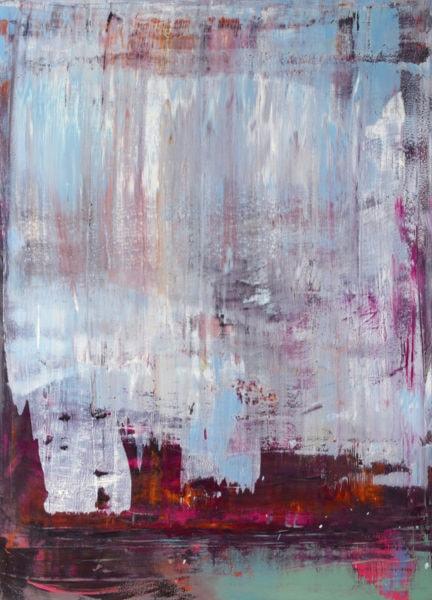 'dB-3', 2008, oil on canvas, 195 x 140 cm