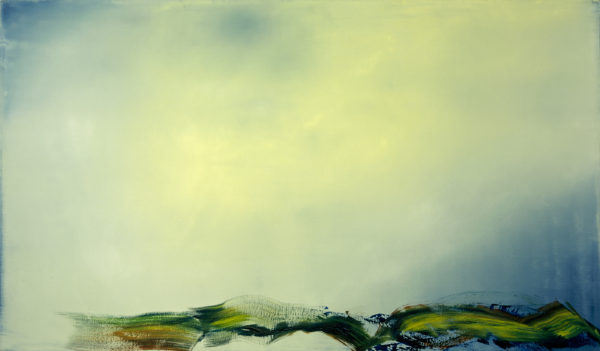 'Unreal Pulsation', 2005-06, oil on canvas, 175 x 300 cm <br />