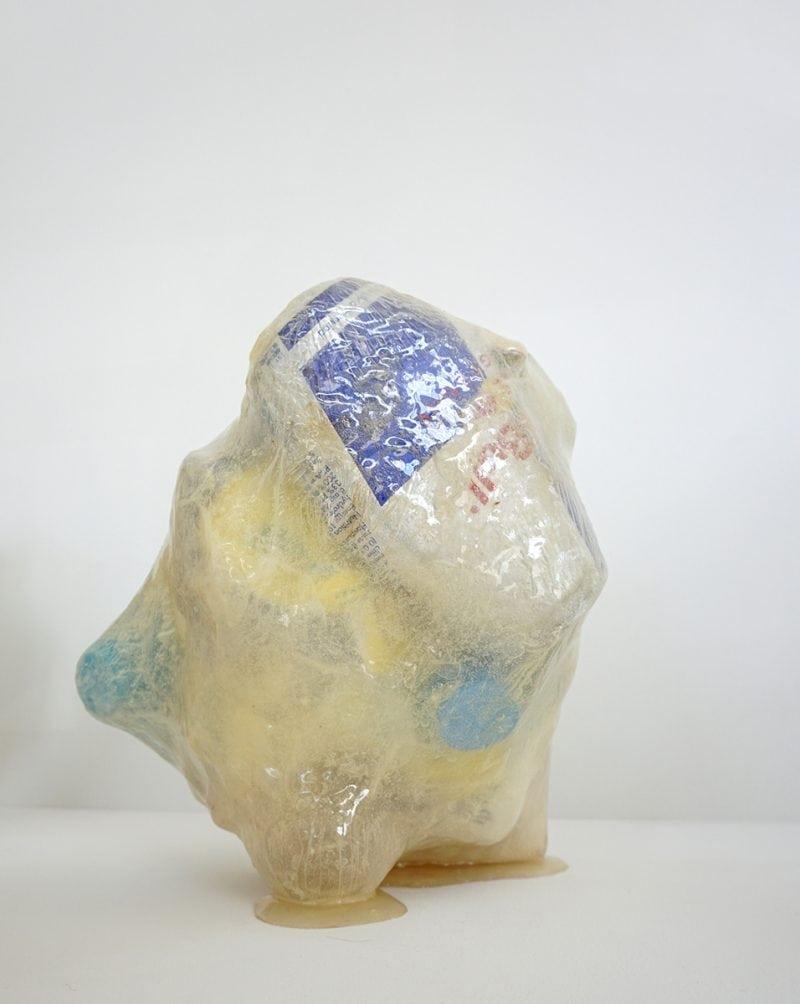 Gary Deirmendjian, 'bull',  2013, salvaged non-organic rubbish, resin and other, 20 x 22 x 19 cm