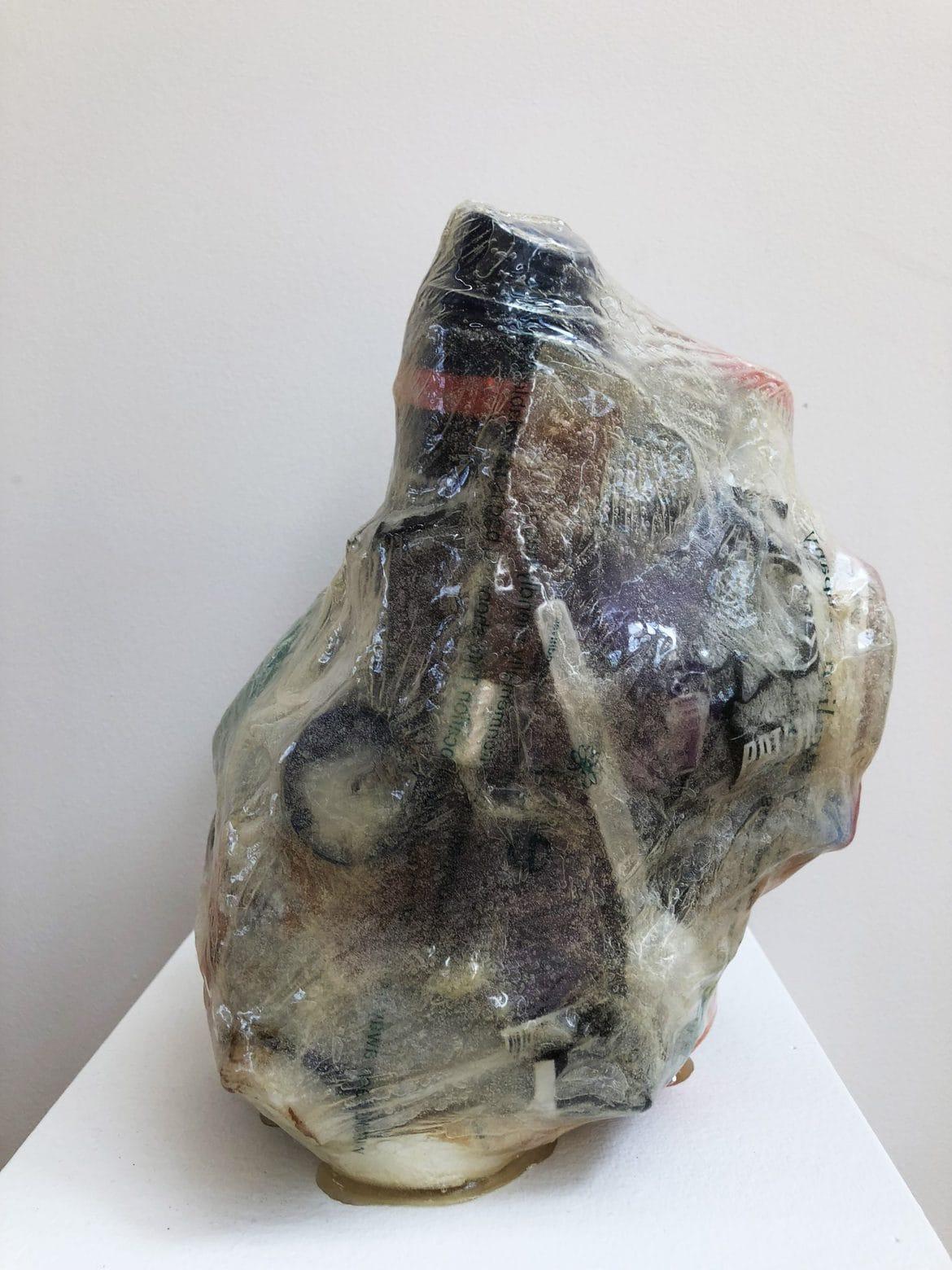 Gary Deirmendjian, 'harris', 2013, salvaged non-organic rubbish, resin and other, 27 x 21 x 18 cm