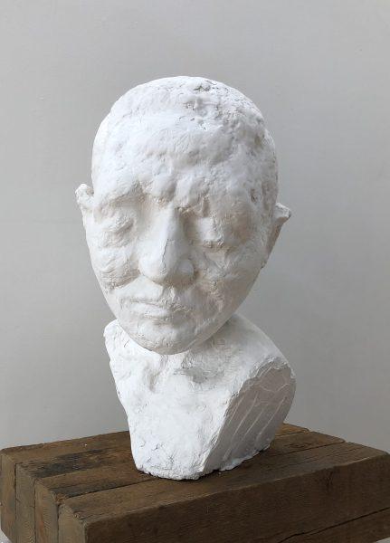 Gary Deirmendjian, 'nenne', 2004, plaster and styrofoam, 62 x 50 x 40 cm