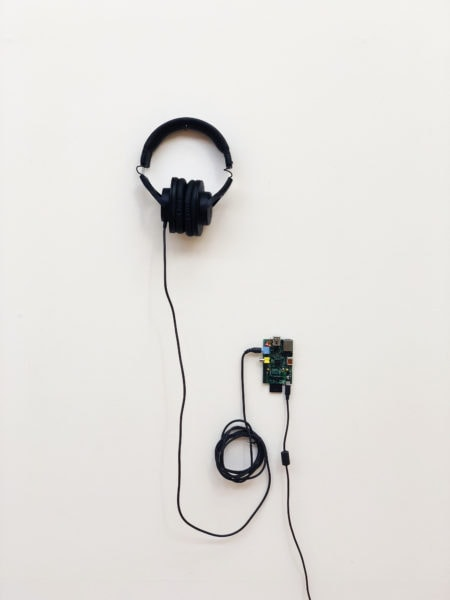 'Combinatorics (Sound)', 2018, electronic components and computer-generated sound, 7.23 x 102765  years, <br /> edition of 3 + 1AP