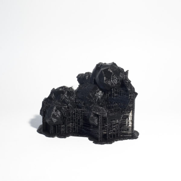 'City Constructed from Sleeping Brain Activity Data (no.05)', 2015, 3D printed PLA plastic, data, edition of 3 + 1AP