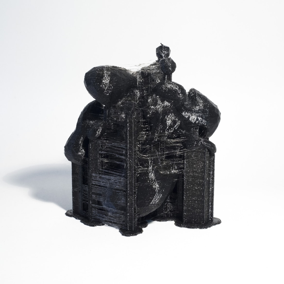 'City Constructed from Sleeping Brain Activity Data (no.07)', 2015, 3D printed PLA plastic, data, edition of 3 + 1AP
