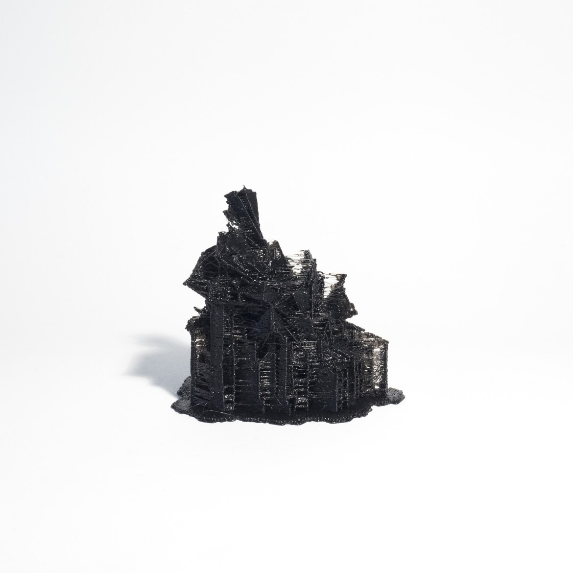 'City Constructed from Sleeping Brain Activity Data (no.09)', 2015, 3D printed PLA plastic, data, edition of 3 + 1AP