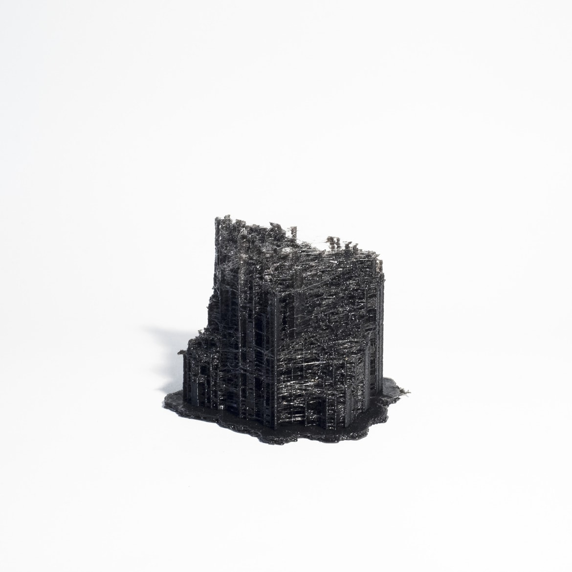 'City Constructed from Sleeping Brain Activity Data (no.16)', 2015, 3D printed PLA plastic, data, edition of 3 + 1AP