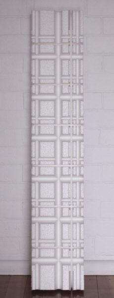 Gary Deirmendjian, 'ECG tablet', 2010, polystyrene, perspex box, 123 x 25 x 13 cm