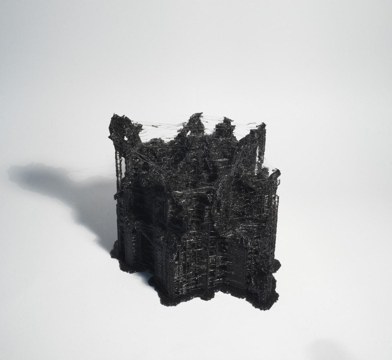 'Metamodel.dna (clostridium difficile ~ homo sapiens)', 2015, 3D printed PLA plastic, DNA data, 10 x 10 x 10 cm, edition of 3 + 1AP