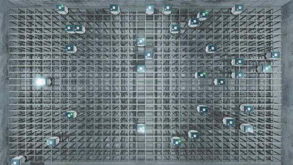 'Automated Logistics Simulation', 2018, computer-generated simulation, edition of 3 + 1AP