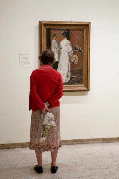 Art Gallery of New South Wales, Rupert Bunny Exhibition, 2010,<br />