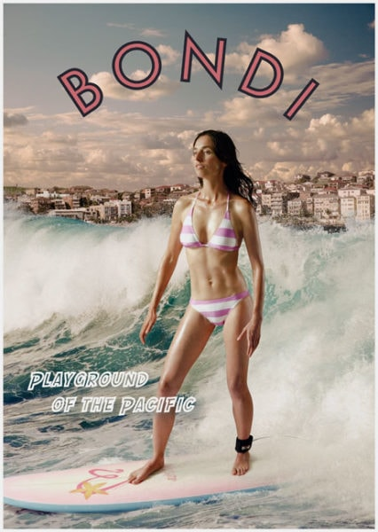 Bondi, Playground of the Pacific, 2009,<br />