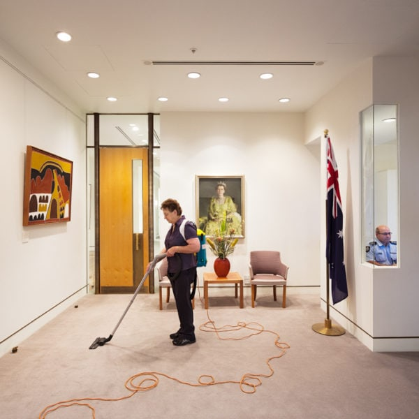 Cleaner and Australian Federal Police Officer, Prime Minister's Office