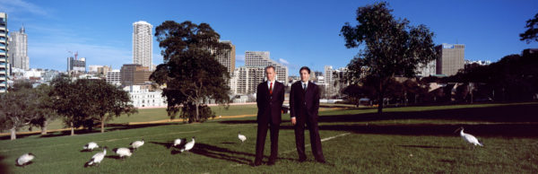 Eric Brodie and Graeme Addie, The Domain, 2002<br />