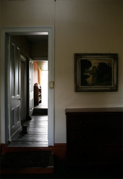 Haefliger's Cottage, Interior #1 2010,<br />