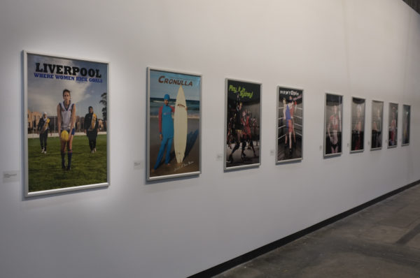 Install view, Onside, Casula Powerhouse, 2013<br />