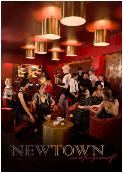 Newtown, where you can be yourself, 2009,<br />