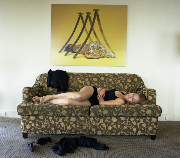 Room 4321 (with artwork by Vanila Netto), Hotel Suite, 2008, <br />