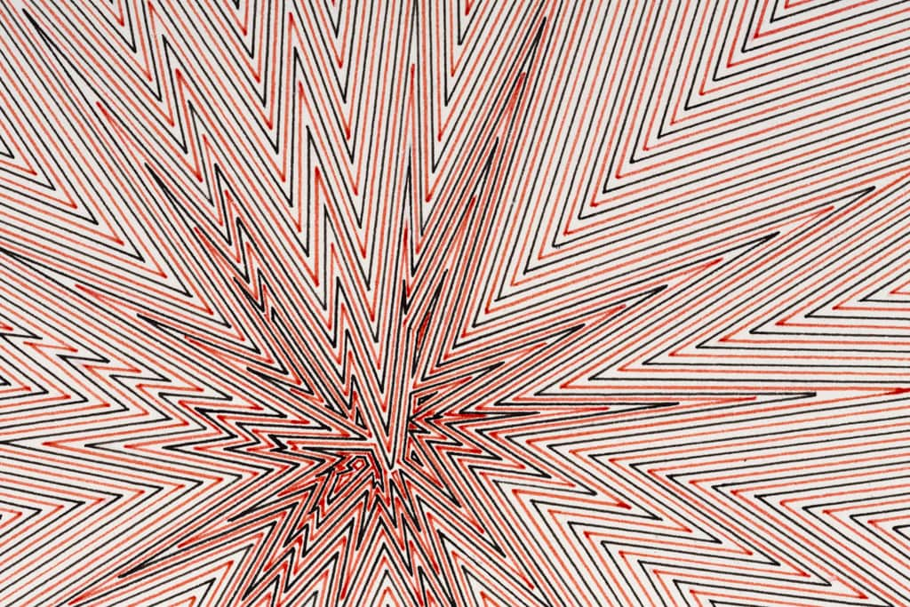 Kevin Osmond, 'Southern Cross' (detail), 2012, Red and black pens on ʻWhite' 300gsm archival paper (Original drawing signed and dated on verso), 100 x 70cm