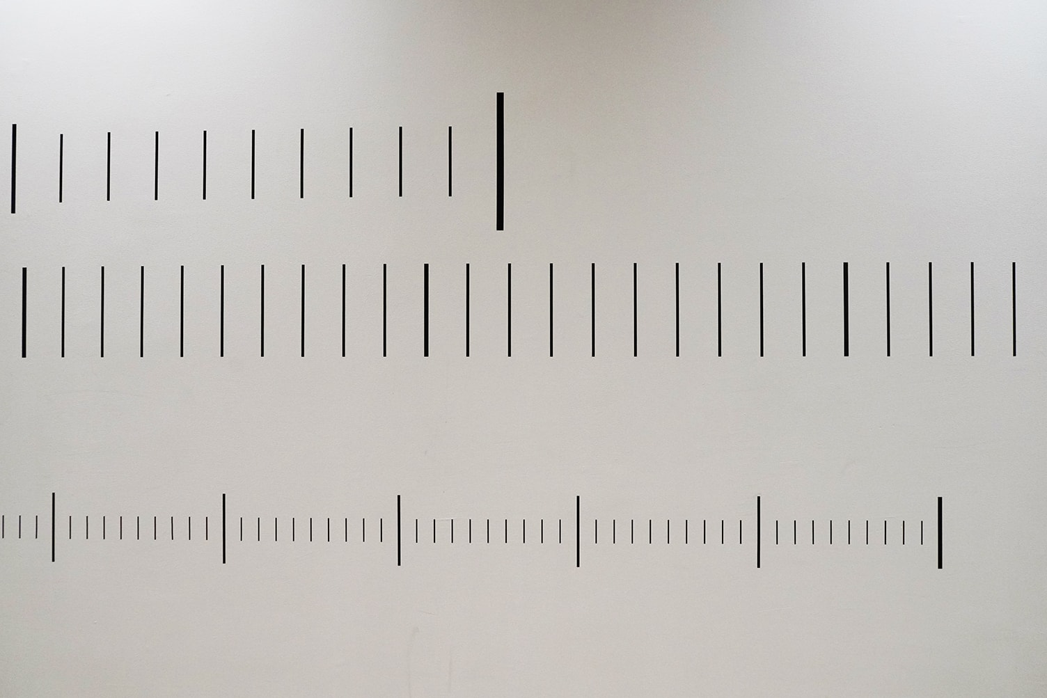 Sara Morawetz, 'Metric Units for the Solar System [Metric Schematic]', 2019, cut vinyl, 14m long