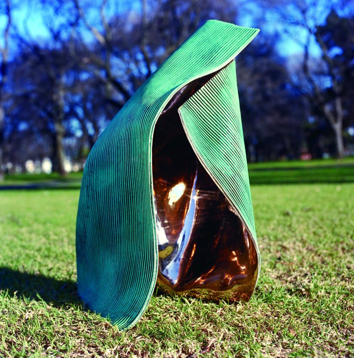 'Folded 3', 2003, bronze, 77 x 55 x 56 cm, edition 3 of 12 + 1AP