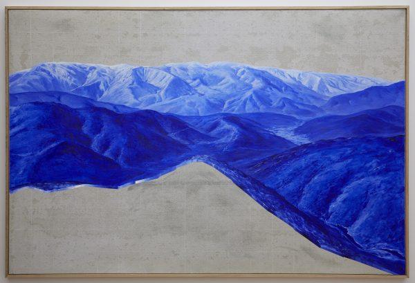 'Cadaver II,' 2018, oil and wax on concrete board, 180 x 120 cm