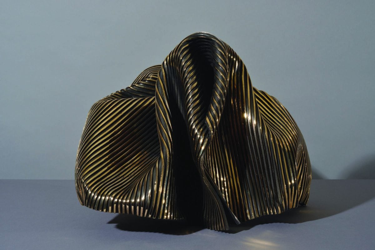 'Undulation 1', 2020, bronze, 41 x 46 x 56 cm, edition of 12 + 1AP