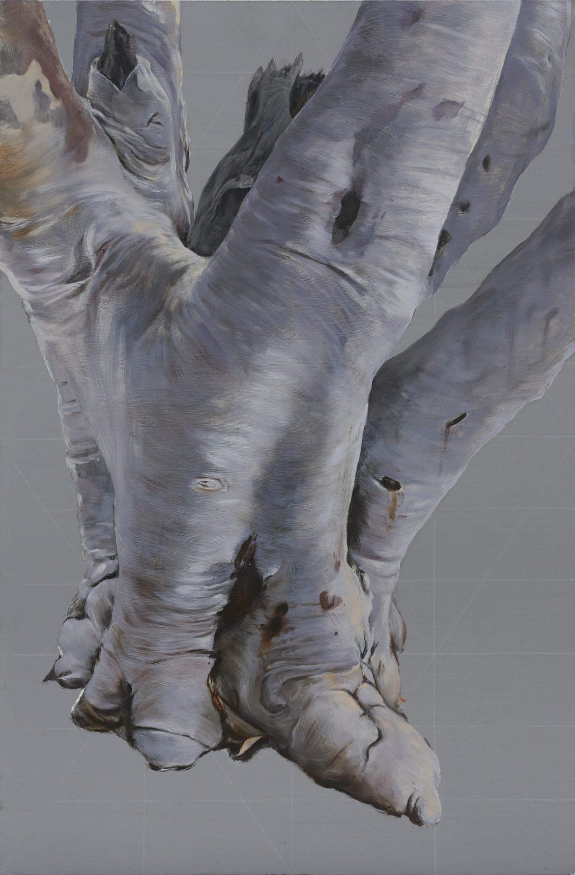 Piers Greville, 'El tres de mayo en Madrid', 2020, oil and acrylic on masonite, 61 x 92 cm