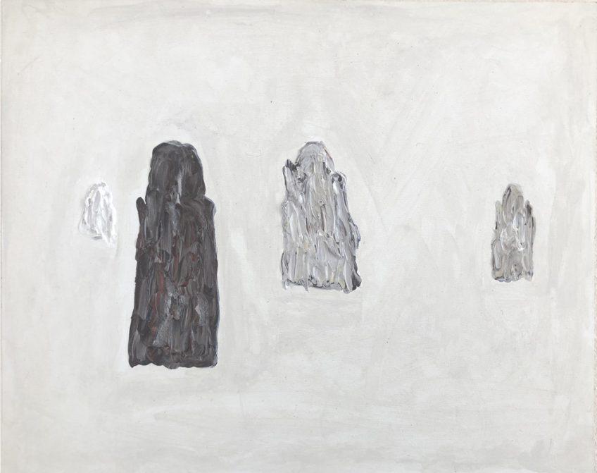 Dominik Mersch Gallery, Clemens Krauss, 'Remaining Silent 2', 2013, acrylic on board, 24 x 30 cm