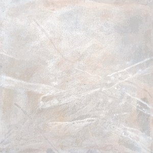 Babette Robertson, 'Five days of recollection', found pigment and synthetic polymer paint on canvas, 56 x56cm