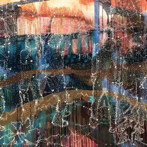 Jon Cattapan, 'Constellation Group', 2019, oil on linen, 140 x 180 cm