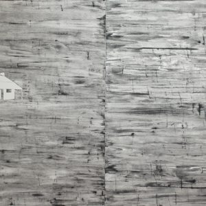 Liam Garstang, 'The Ghost House', 2018, drypoint on Hahnemuhle 300gsm paper, mounted on aluminium panel, 160 x 240 cm, edition of 3 + 1 AP