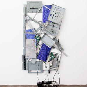 Lucas Davidson, 'Happy Chemicals', 2015, television components, 200 x 100 x 15cm