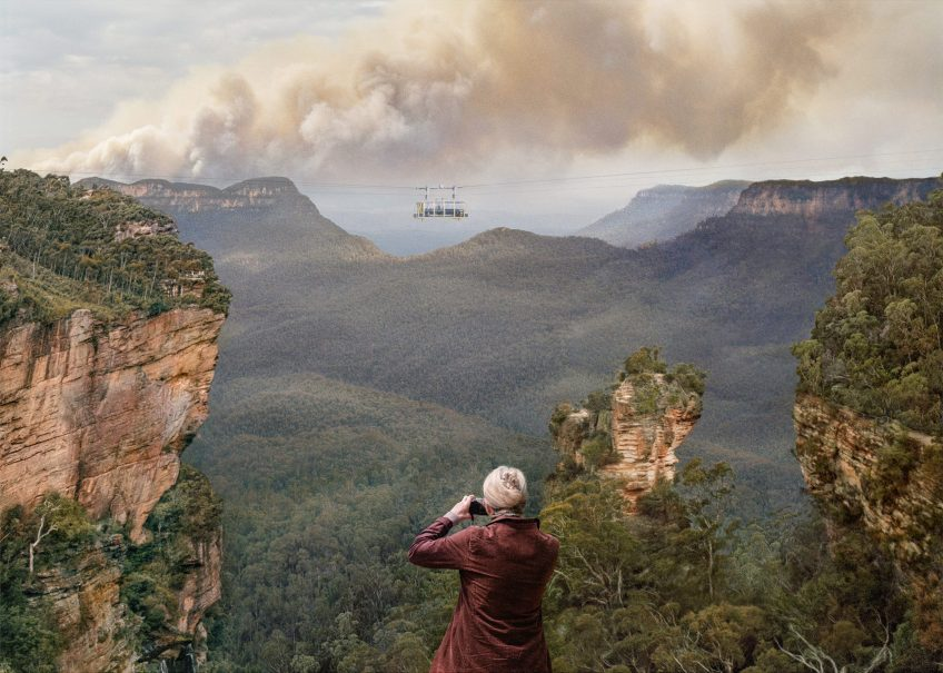 'You Are On Gundungurra Land!', 2020, Archival pigment ink print on rag paper, 115cm x 161cm, edition of 5 + 1/AP