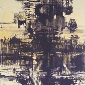 Adrienne Gaha, River Gum, 2017 Lithograph, 60 x 41 cm, edition of 20