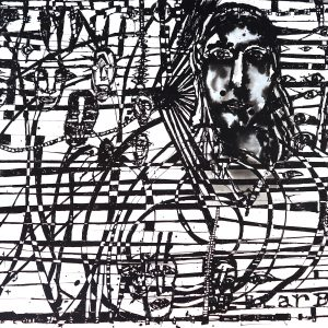 Locust Jones, 'Dear Leader (Jacinda)', 2019, ink on paper, unframed, 66 x 101 cm