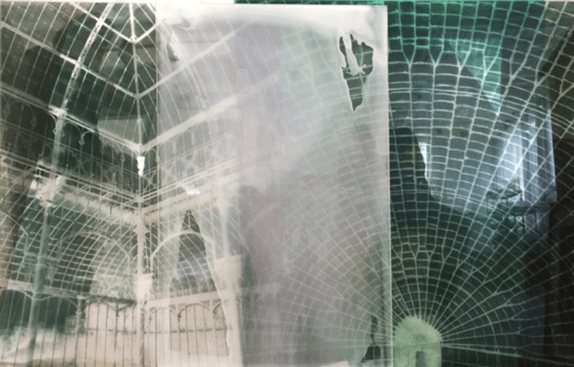 'Botanical Residues (after the Great Glasshouse)', 2005, duraclear, photographs on acrylic, 100 x 150 cm