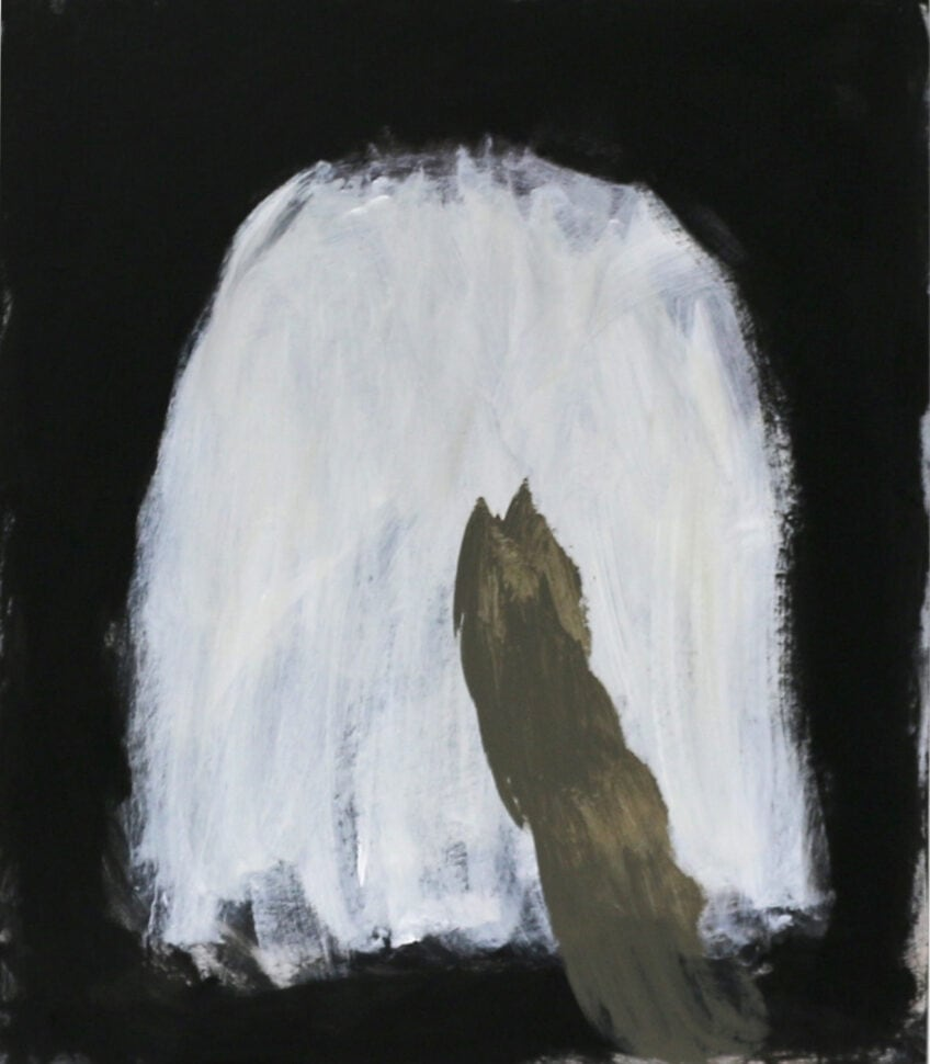 Lottie Consalvo, 'The Moon Fell and Nothing Happened (In dreams)', 90 x 80 cm, acrylic on board